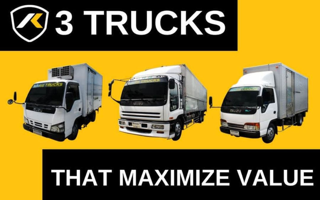 Three Trucks To Maximize Value For Your Business