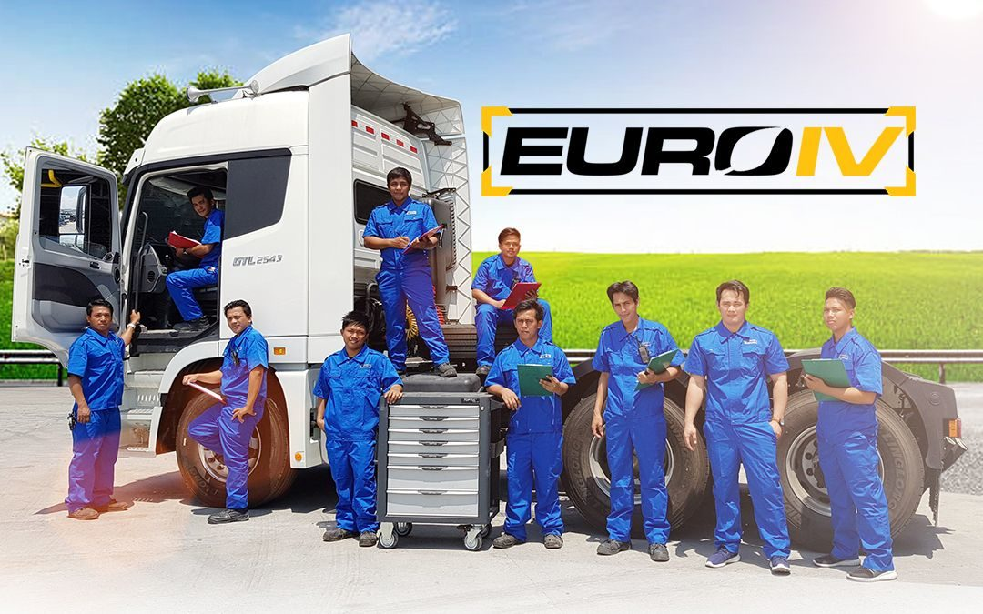 How can you maintain your Euro IV truck?