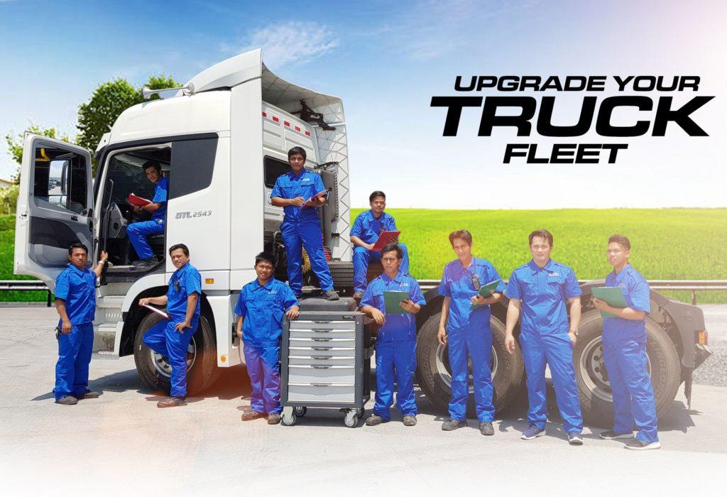 Upgrade your truck fleet