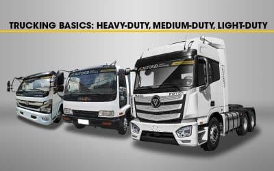 Trucking Basics: Heavy-duty, Medium-duty, Light-duty
