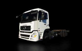 DONGFENG KL 10W CAB CHASSIS   DF#0014