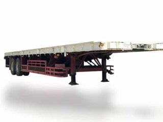 FLAT BED TRAILER   AS#0329