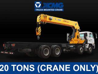 (20 TONS) XCMG TRUCK-MOUNTED CRANE | XCMG#0011