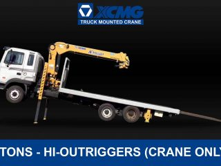 (5 TONS) XCMG TRUCK-MOUNTED CRANE WITH HIGH OUTRIGGERS | XCMG#0006
