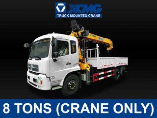 (8 TONS) XCMG TRUCK-MOUNTED CRANE | XCMG#0005