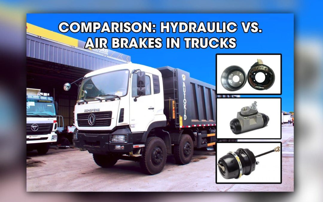 Hydraulic brakes or air brakes? Which braking system has enough power to stop a vehicle as powerful as a truck? Read to find out.